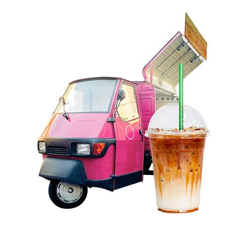 Coffee Piaggio Van